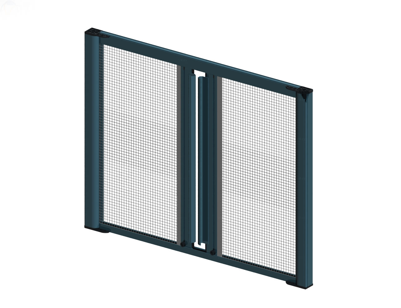 Horizontal Movement Insect Screen Double