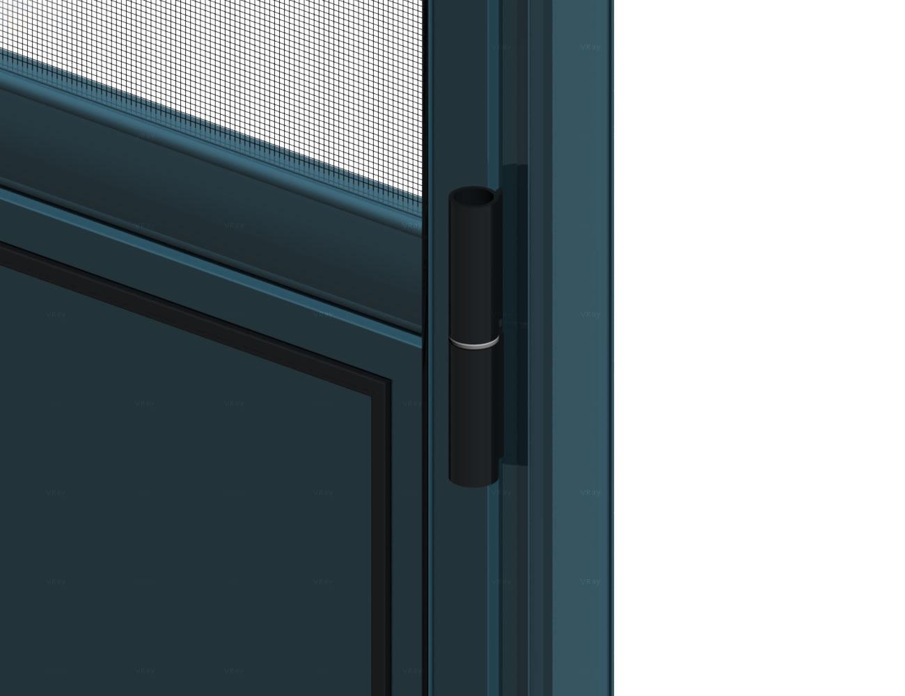 Opening Single Door with aluminium sheet Thumbnail